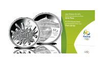 Oficjalna srebrna moneta olimpijska Rio 2016 - flora