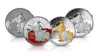 zestaw-4-srebrnych-medali-polonia