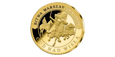 Pamiątkowy złoty medal
