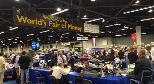 Jesteśmy na World's Fair of Money w Anaheim