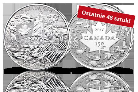 Oficjalne Srebrne Dolary Kanadyjskie