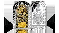 Limitowana moneta z czystego srebra: Matka Boża Kalwaryjska