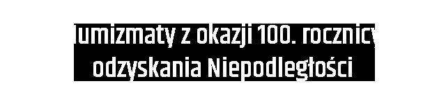 logo obchodów 100 rocznicy niepodległości