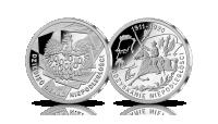 Odzyskanie Niepodległości - srebrny medal