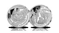 Protesty społeczne - srebrny medal