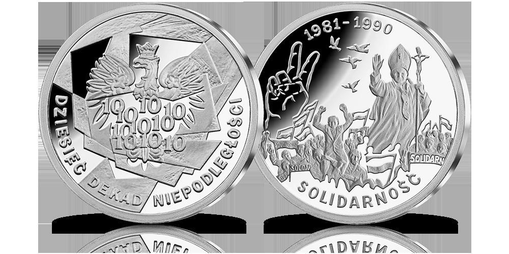 srebrny-medal-10-dekad-niepodleglosci-1981-1990-solidarnosc
