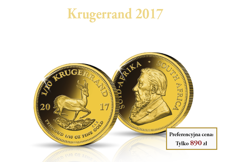 50. rocznica Krugerranda
