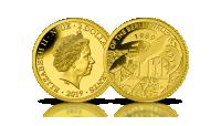 30. rocznica upadku muru berlińskiego na najmniejszej złotej monecie