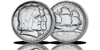 300. rocznica przybycia białych osadników na Long Island upamiętniona na niezwykłej srebrnej półdolarówce!