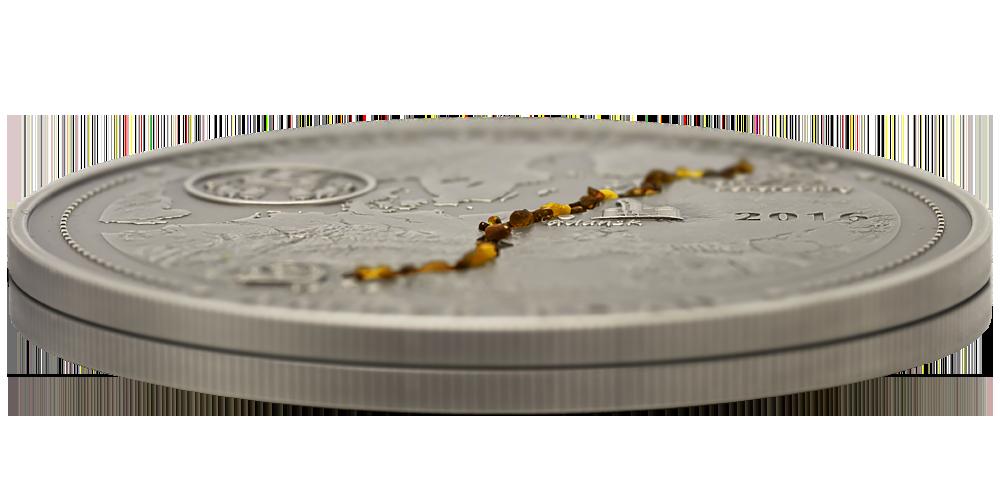 srebrna-moneta-bursztynowy-szlak-detal