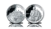 Amerykańska srebrna moneta George Washington