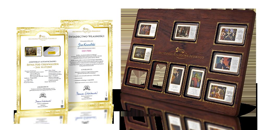 Akcesoria GRATIS! Elegancka drewniana pudełko-ramka: stwórz własną galerię sztuki w swoim domu!