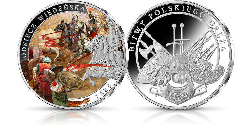 Srebrny medal okolicznościowy - Odsiecz Wiedeńska
