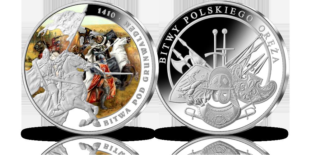 srebrny-medal-okolicznosciowy-bitwa-pod-grunwaldem-1410