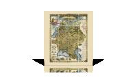 mapa rosji za panowania cara mikołaja ii kopia oryginału