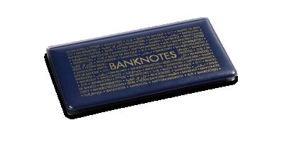 Ciemnoniebieski album na 20 banknotów do 170 x 85 mm