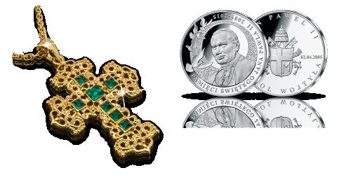 zestaw-krzyz-benedykta-medal-jan-pawel-ii