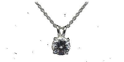 Elegancki srebrny łańcuszek z cyrkonią
