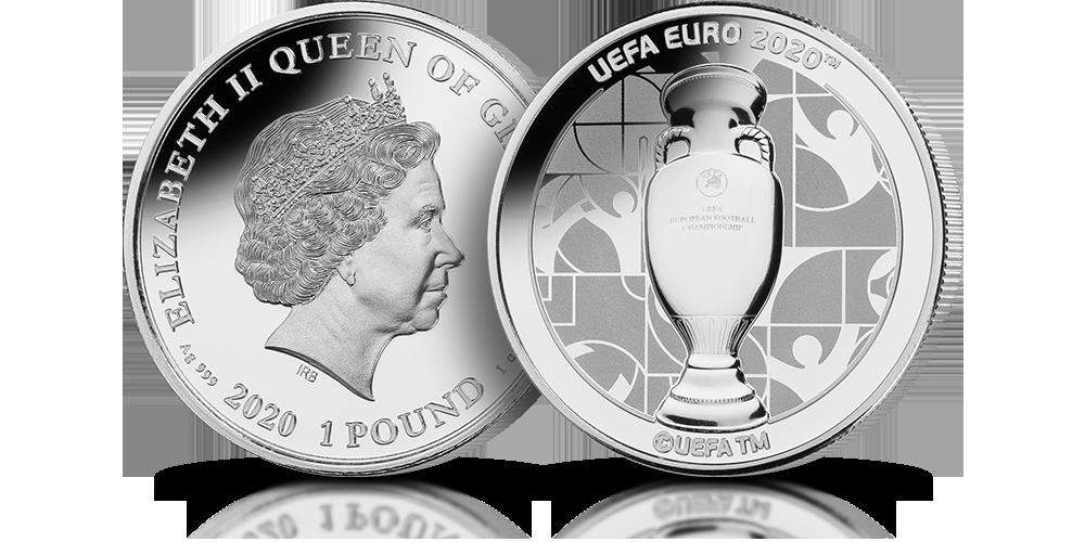Oficjalna moneta EURO 2020