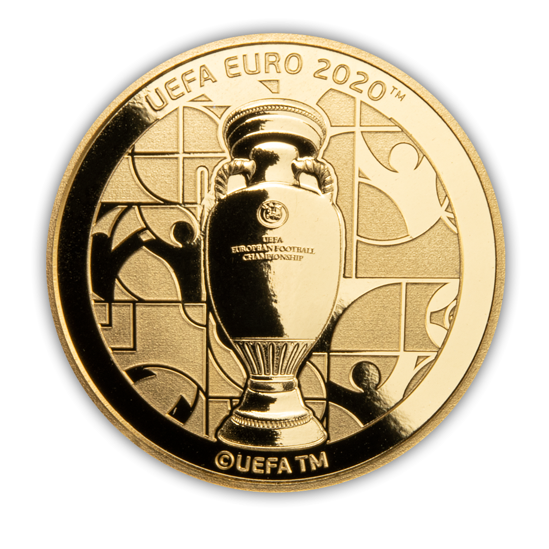 rewers monety EURO 2020