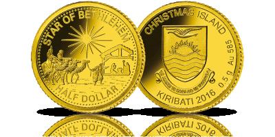 Gwiazda Betlejemska - jeden z najważniejszych symboli wiary uwieczniony w cennym złocie
