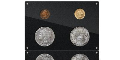 Historia Dzikiego Zachodu przedstawiona na kolekcjonerskich monetach