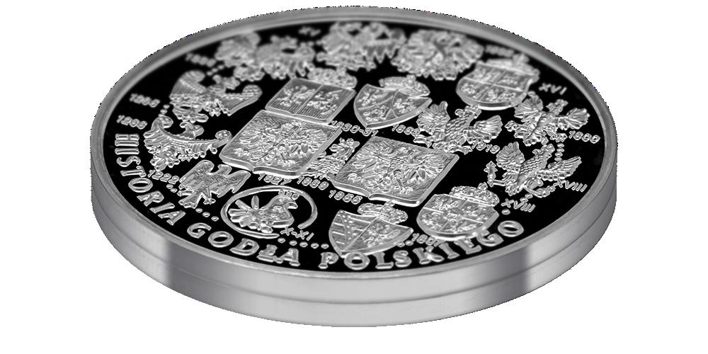 srebrny-medal-okolicznosciowy-historia-godla-polskiego-lezacy