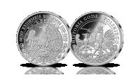 Orzeł Kazimierza Wielkiego - srebrny medal