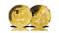 Orzeł Przemysła II w czystym złocie