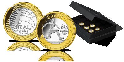 Igrzyska Olimpijskie Rio 2016 Kompletny zestaw monet okolicznościowych!