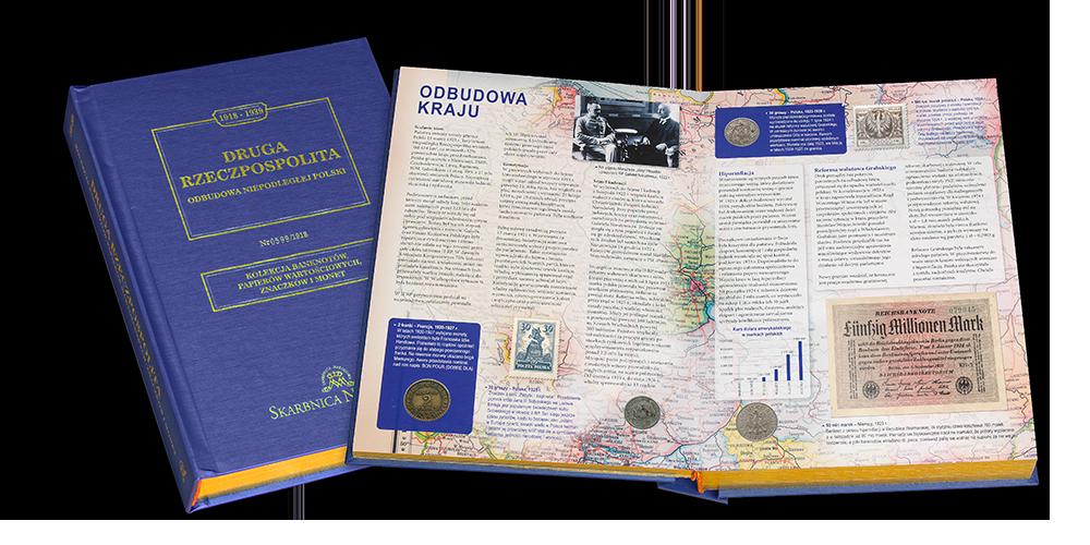 Pierwsza kronika numizmatyczno-filatelistyczna o niepodległej II Rzeczpospolitej