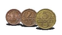 monety-obiegowe-ii-rzeczpospolitej-5-2-1-groszy