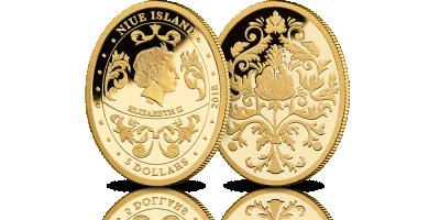 Jajo Faberge upamiętnione na oficjalnej złotej monecie