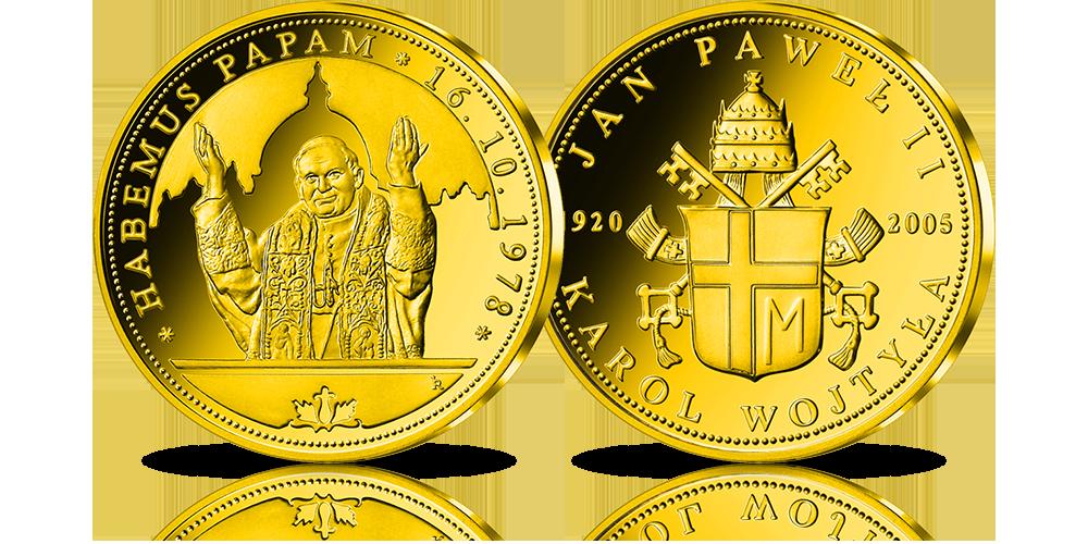 zloty-numizmat-jan-pawel-ii-habemus-papam