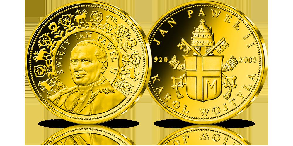 zloty-numizmat-jan-pawel-ii-swiety