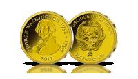 jerzy waszyngton 1732 1799 na złotej monecie