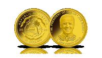 Joe Biden. Moneta wybita w czystym złocie.
