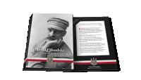 Folder na medale z kolekcji Józef Piłsudski. Droga do Niepodległości
