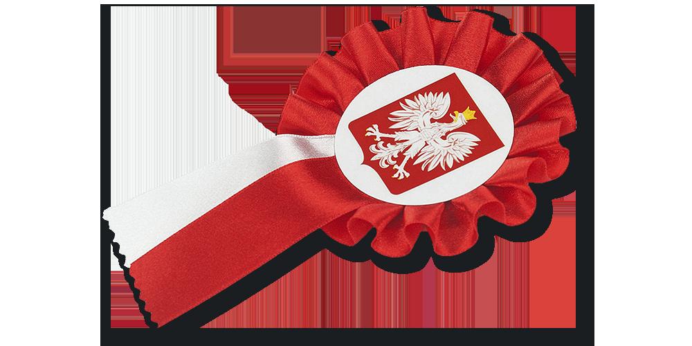 kokarda narodowa - prezent do kolekcji Józef Piłsudski. Droga do Niepodległości