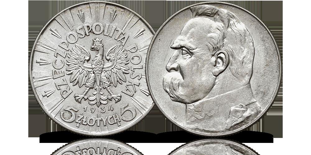 ramka-kolekcjonerska-bohater-narodowy-jozef-pilsudski-5-zlotych