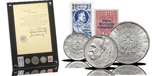 ramka-kolekcjonerska-bohater-narodowy-jozef-pilsudski-zestaw