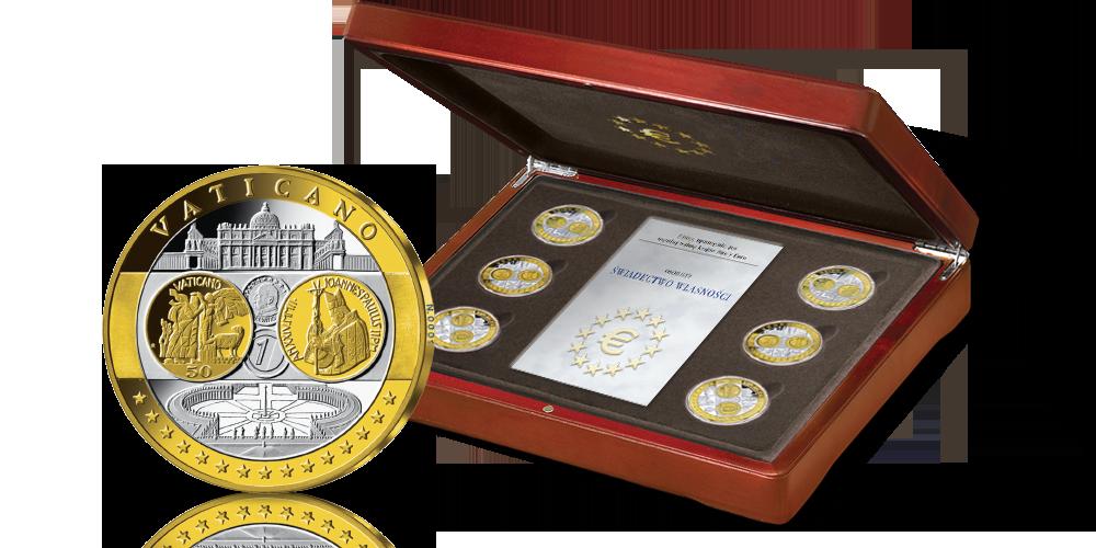 kolekcja-medali-upamietniajacych-zlote-monety-euro-pudelko