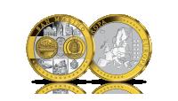 kolekcja-medali-upamietniajacych-zlote-monety-euro-san-marino