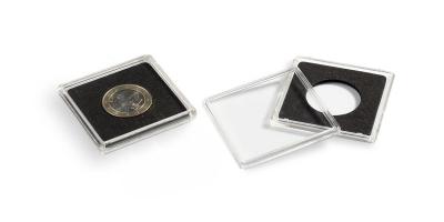 Kwadratowa kapsuła do monet o średnicy 36 mm