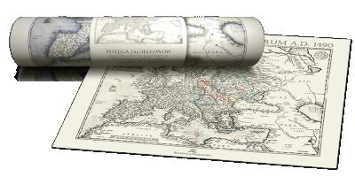 Mapa dynastii Jagiellonów
