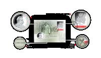numizmatyczna-koperta-kolekcjonerska-srebrny-medal-jozef-pilsudski-znaczek-poczta-polska-detale