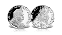 numizmatyczna-koperta-kolekcjonerska-srebrny-medal-jozef-pilsudski-znaczek-poczta-polska