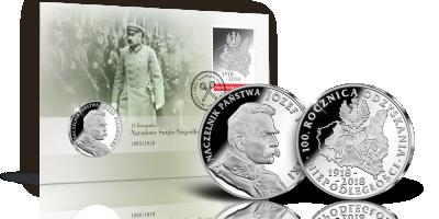 Po raz pierwszy w Skarbnicy Narodowej – koperta numizmatyczna ze srebrnym medalem i oficjalnym znaczkiem!