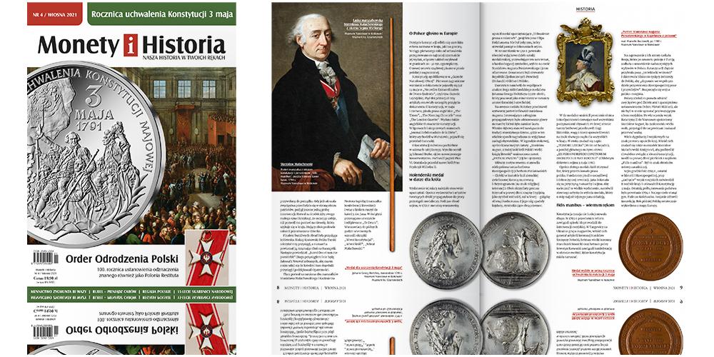 magazyn Monety i Historia Wiosna 2021