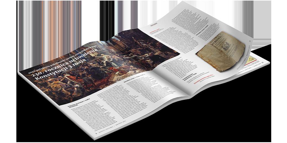 wydanie Monety i Historia numer Wiosna 2021